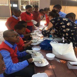 Term 1 Senior Primary making 'Slime' experiment 2020